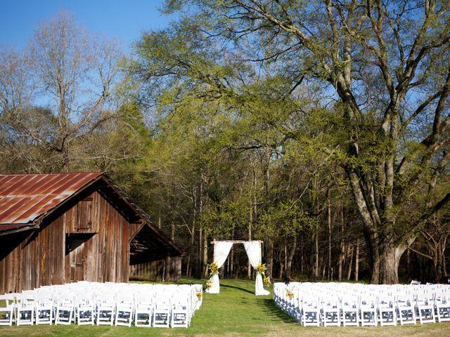 Megan and Dan's Wedding in Birmingham, Alabama 8