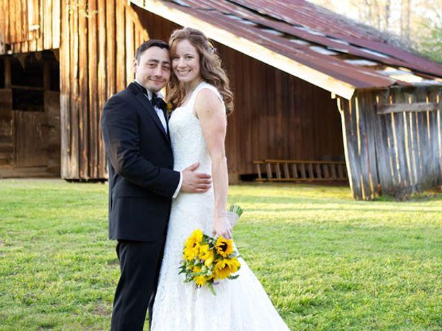 The wedding of Dan and Megan