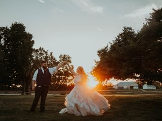 The wedding of Jenna and Justin