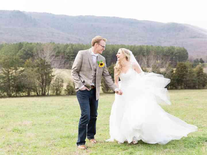 The wedding of Jenn and Jim