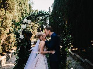 The wedding of Richard and Amanda