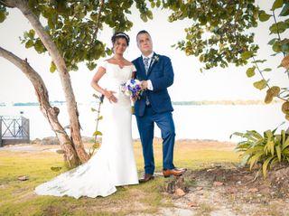 The wedding of Charlaine and Ricardo