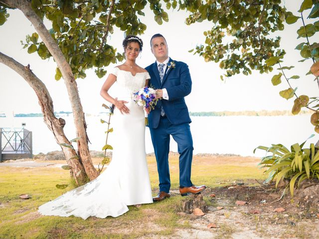 The wedding of Charlaine and Ricardo