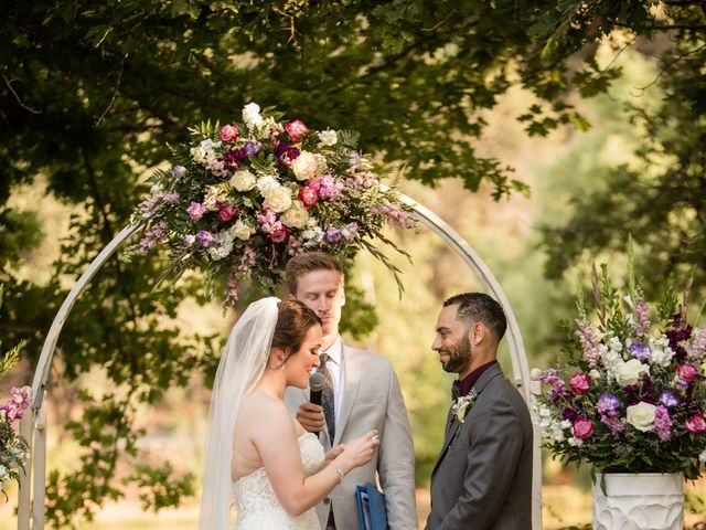 Andrea and Rylan's Wedding in Murphys, California 9