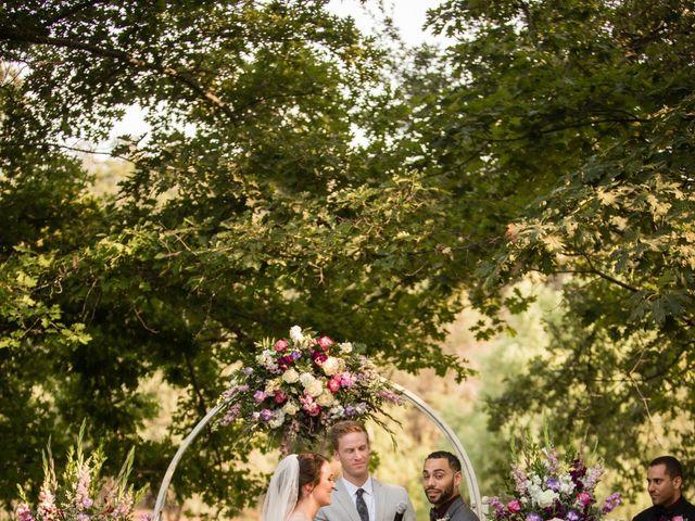 Andrea and Rylan's Wedding in Murphys, California 10