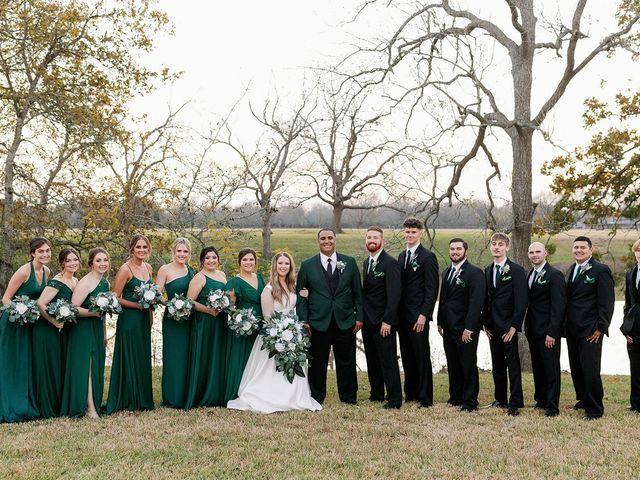 Jonathyn and Kelsey's Wedding in Houston, Texas 57