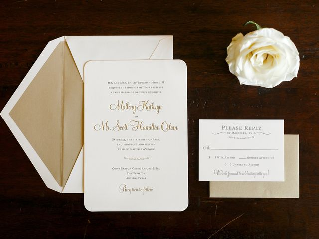 Mallory and Scott's Wedding in Austin, Texas 1