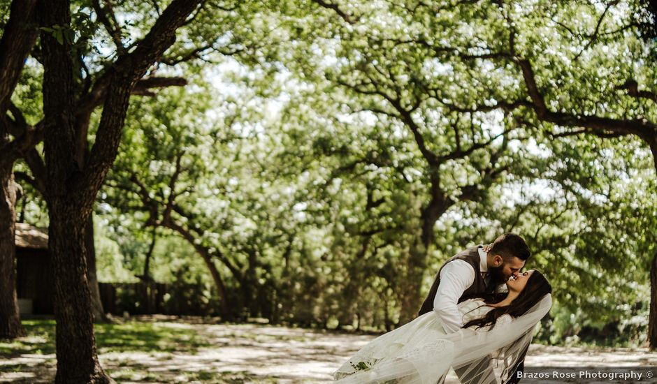 Zachary and Abby's Wedding in Bluff Dale, Texas