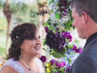 The wedding of David and Rebecca