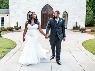 The wedding of Shanelle and Robert