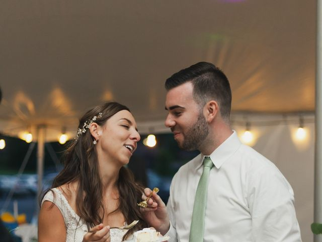 Sean and Casey's Wedding in Johnstown, New York 3