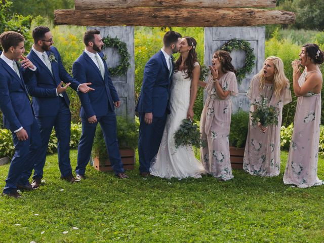 Sean and Casey's Wedding in Johnstown, New York 7