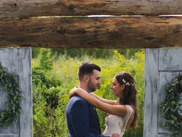Sean and Casey's Wedding in Johnstown, New York 14