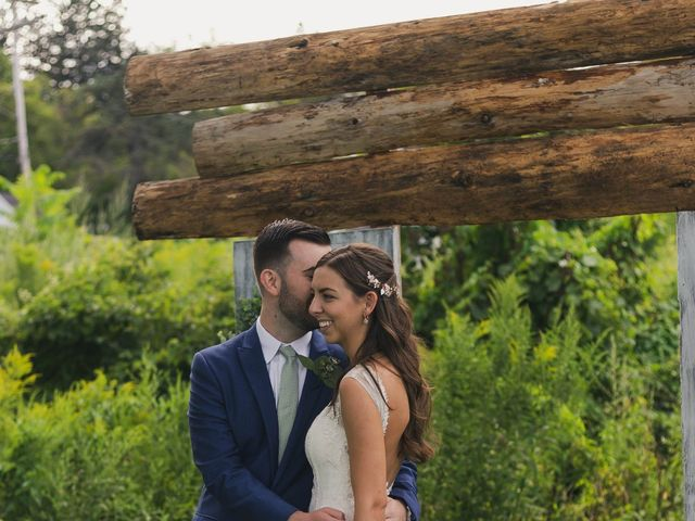 Sean and Casey's Wedding in Johnstown, New York 16