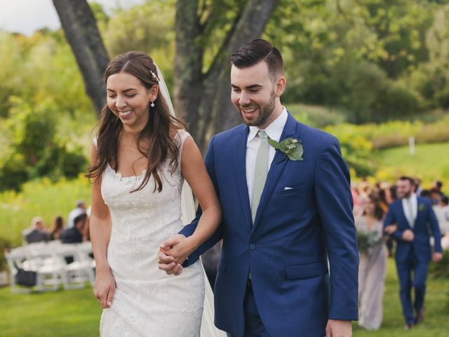 Sean and Casey's Wedding in Johnstown, New York 18