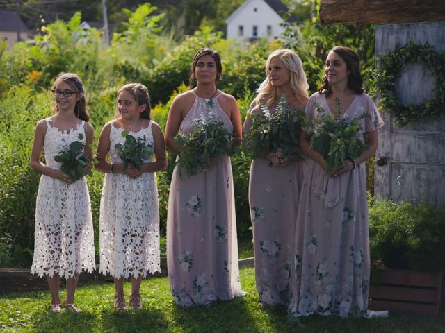 Sean and Casey's Wedding in Johnstown, New York 25