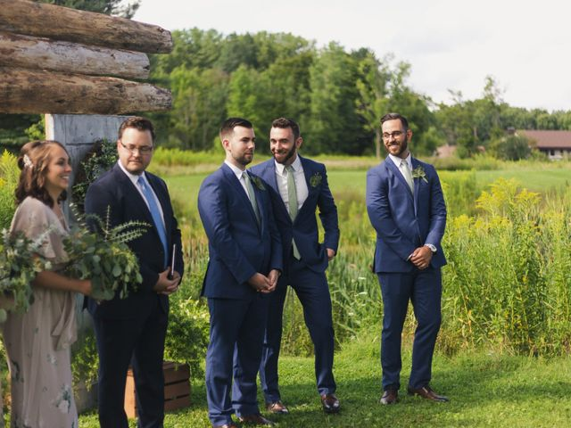 Sean and Casey's Wedding in Johnstown, New York 26