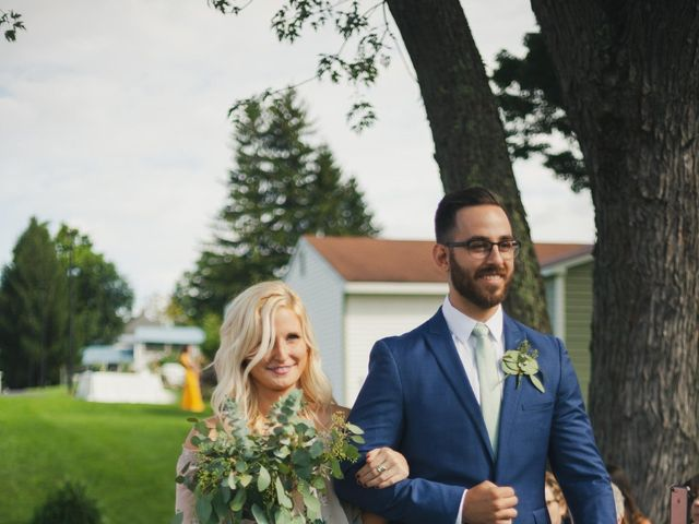 Sean and Casey's Wedding in Johnstown, New York 27