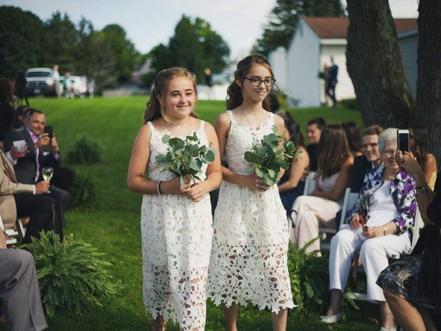 Sean and Casey's Wedding in Johnstown, New York 28