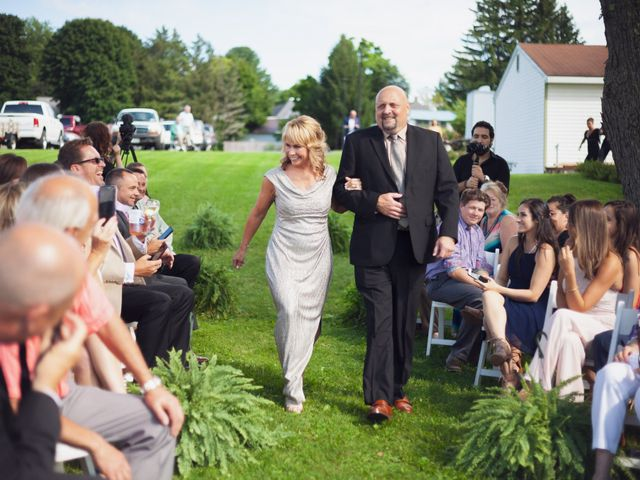 Sean and Casey's Wedding in Johnstown, New York 29