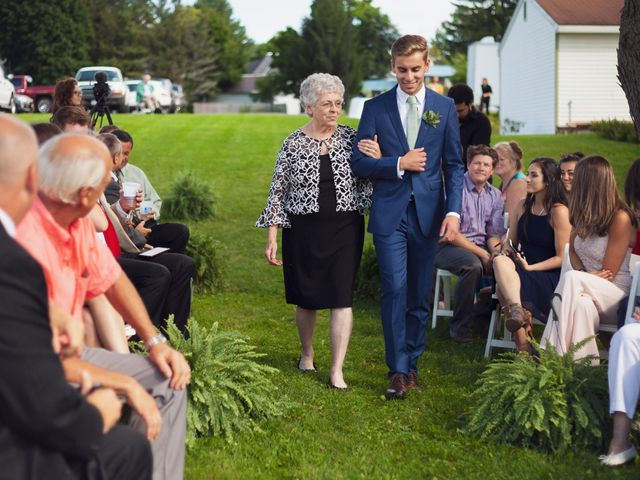 Sean and Casey's Wedding in Johnstown, New York 30