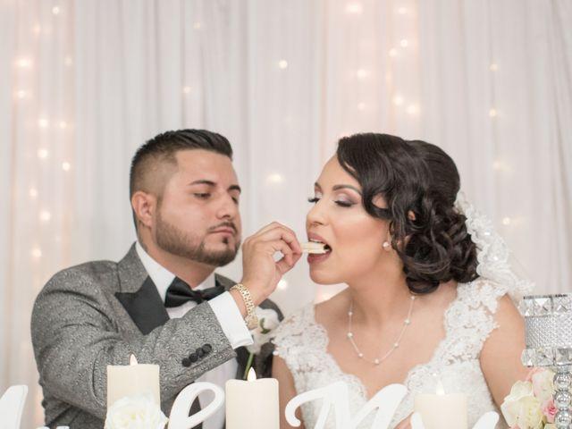 The wedding of Anahi and Tony