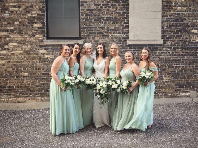 Brett and Sarah's Wedding in Milwaukee, Wisconsin 9