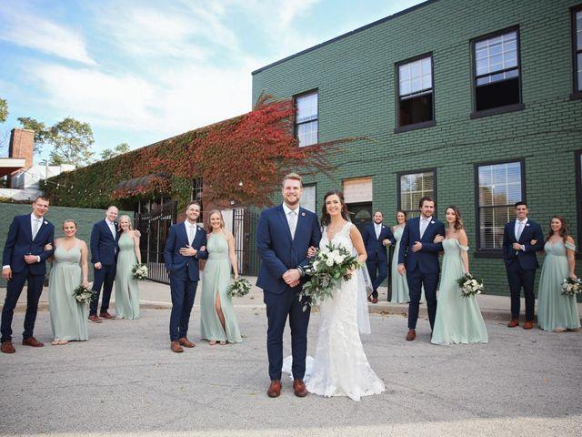 Brett and Sarah's Wedding in Milwaukee, Wisconsin 10