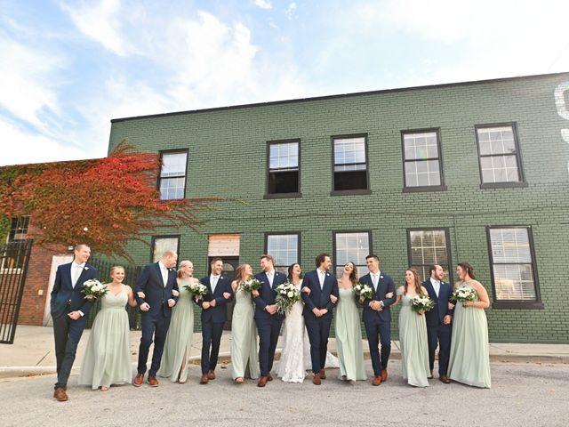 Brett and Sarah's Wedding in Milwaukee, Wisconsin 12