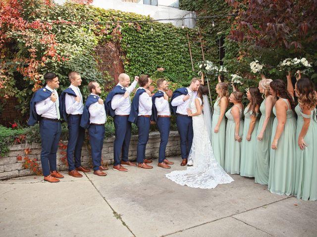 Brett and Sarah's Wedding in Milwaukee, Wisconsin 13