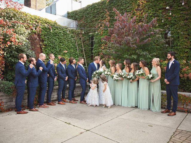 Brett and Sarah's Wedding in Milwaukee, Wisconsin 14