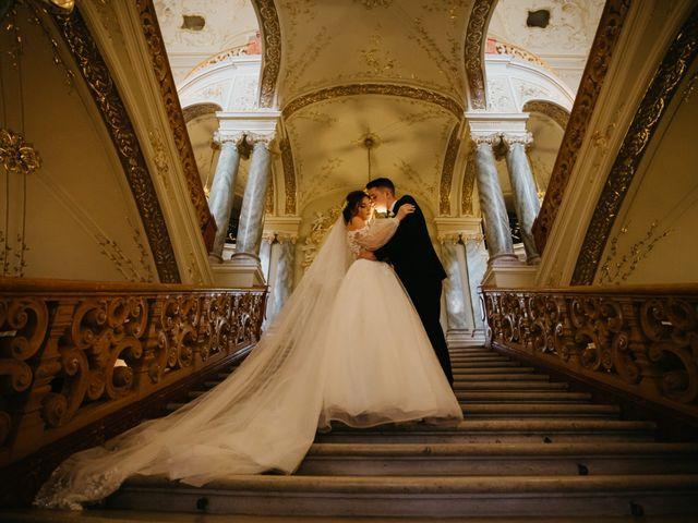 The wedding of Oleg and Irina