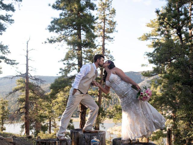 Jamie and Matt's Wedding in Big Bear Lake, California 13