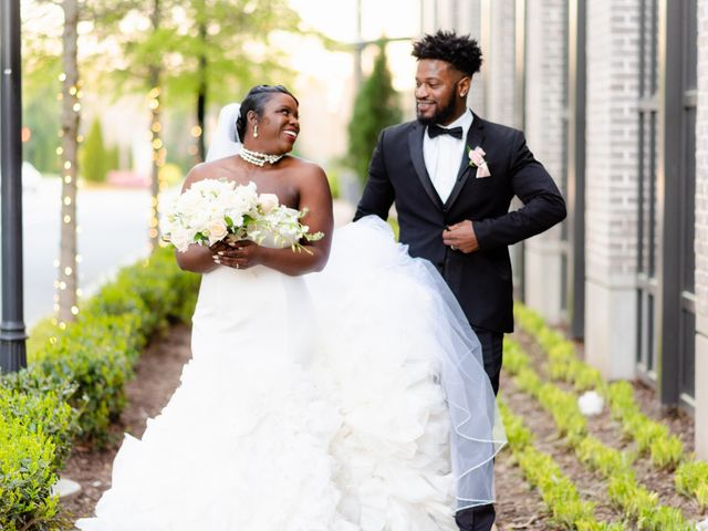 The wedding of Kiara and Larry