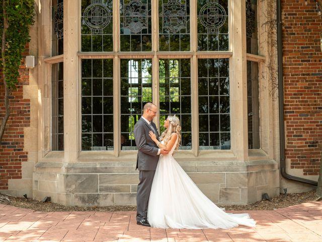 Brandon  and Tracy's Wedding in Clarkston, Michigan 8