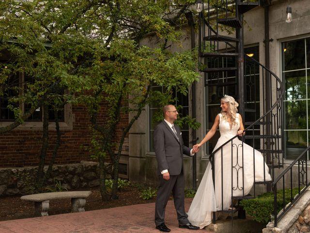 Brandon  and Tracy's Wedding in Clarkston, Michigan 10