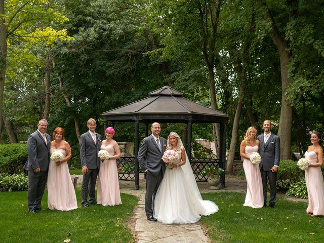 Brandon  and Tracy's Wedding in Clarkston, Michigan 16