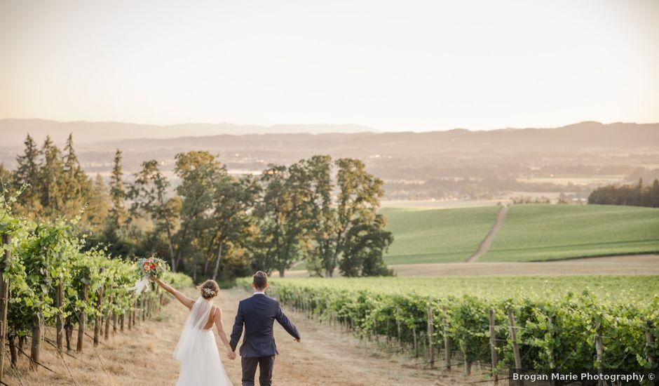 Jordan and Lauren's Wedding in Dundee, Oregon