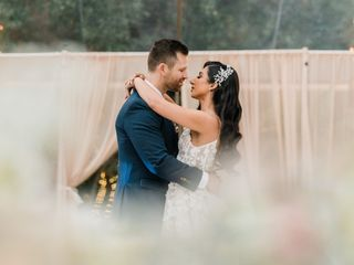 The wedding of Melody and Joe