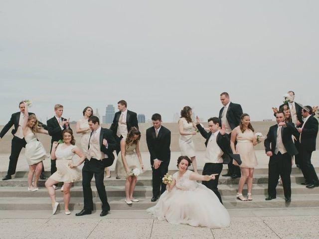 Erin and Timothy's Wedding in Kansas City, Missouri 9