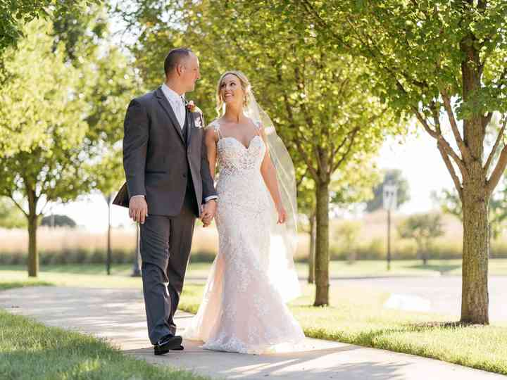 The wedding of Olivia and Sean
