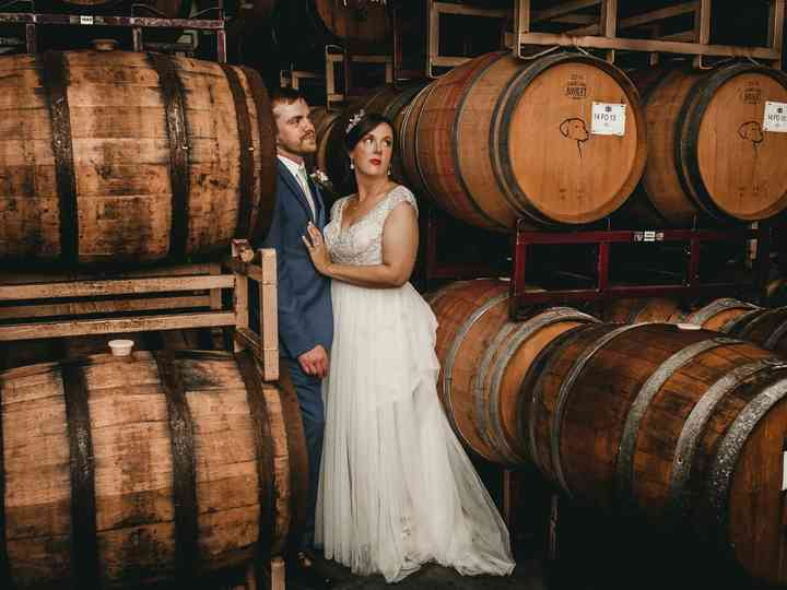 The wedding of Jessica and Drannan