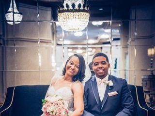The wedding of Deanna and Kabauri