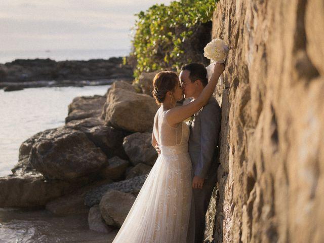 The wedding of Berna and Aaron