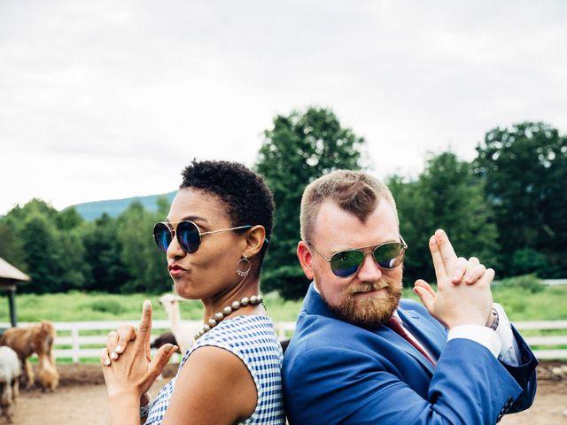 Lukas and Rebecca 's Wedding in Catskill, New York 16