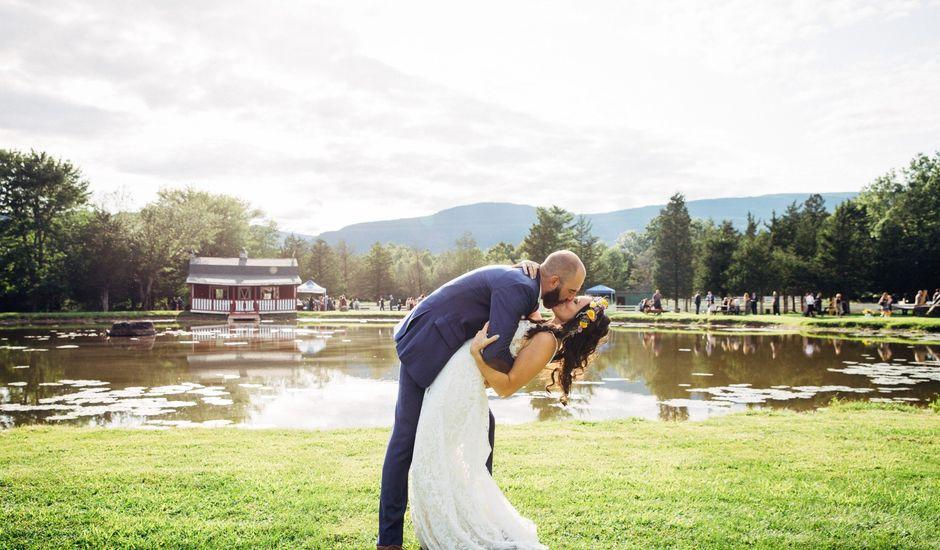 Lukas and Rebecca 's Wedding in Catskill, New York