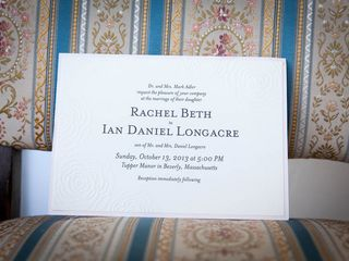 The wedding of Ian and Rachel 2