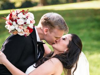Elisa and Brian's Wedding in Berryville, Virginia 8