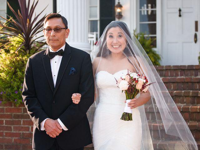 Elisa and Brian's Wedding in Berryville, Virginia 15