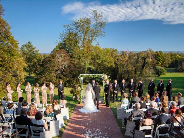 Elisa and Brian's Wedding in Berryville, Virginia 16